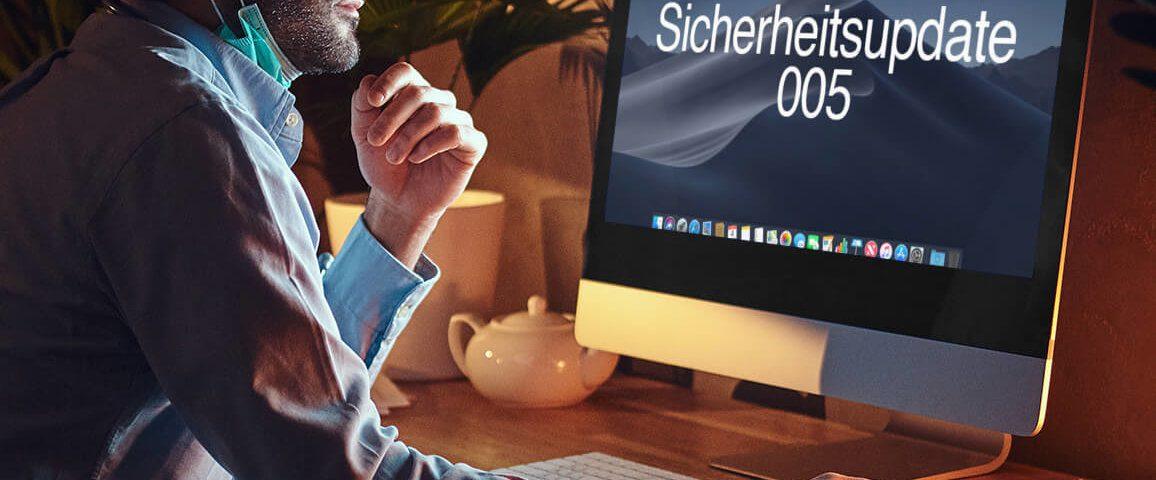 Sicherheitsupdate 005 für macOS Mojave löst Probleme