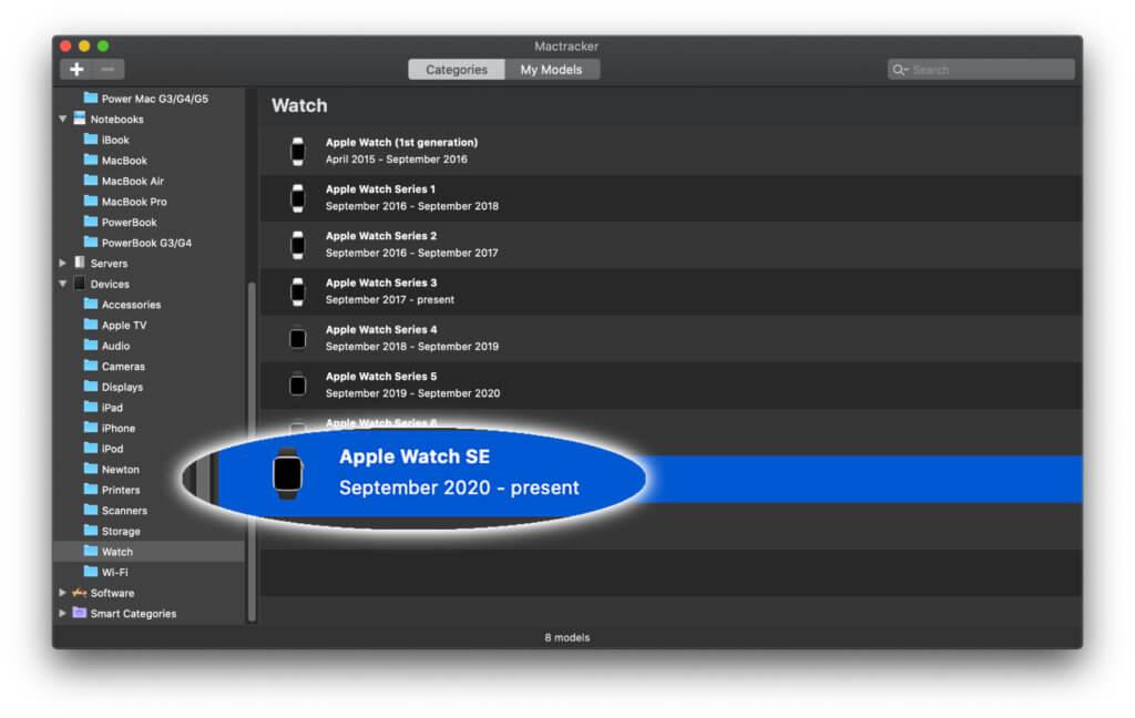 Dank dem Update auf Mactracker 7.9.6 findet ihr nun wieder aktuellste Apple-Infos zu Geräten und Systemen in der Mac- und iPhone-App.