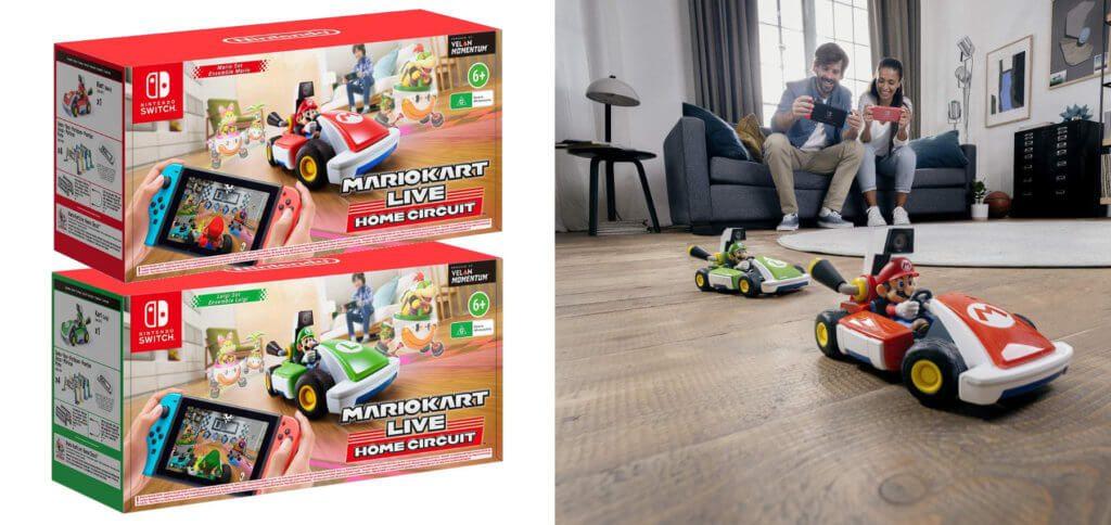 Mario Kart Live: Home Circuit kommt am 16. Oktober 2020 in den Handel, kann aber jetzt schon vorbestellt werden. Hier findet ihr Infos zu den Sets mit Mario und Luigi.