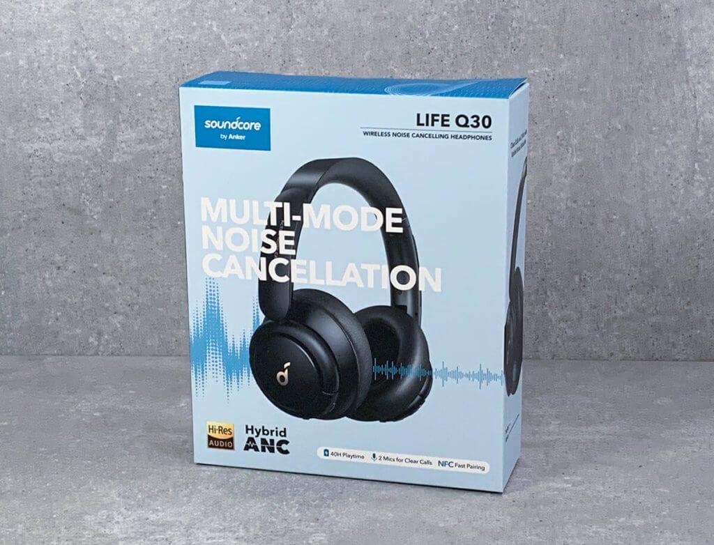 Der Soundcore Life Q30 verspricht effektive Geräuschunterdrückung mit verschiedenen Modi –optimiert für Reisen, Bürogespräche oder Outdoor-Geräusche.