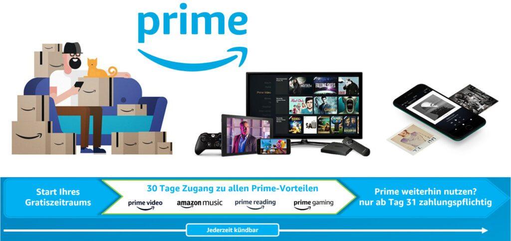 Was beinhaltet Amazon Prime eigentlich? Infos zu Abo-Vorteilen wie Video, Music, Reading, Gaming, Wardrobe und Co.