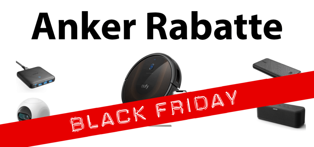 Anker bietet zum Black Friday Event direkt einen ganzen Schwung mit sehr interessanten Angeboten an.