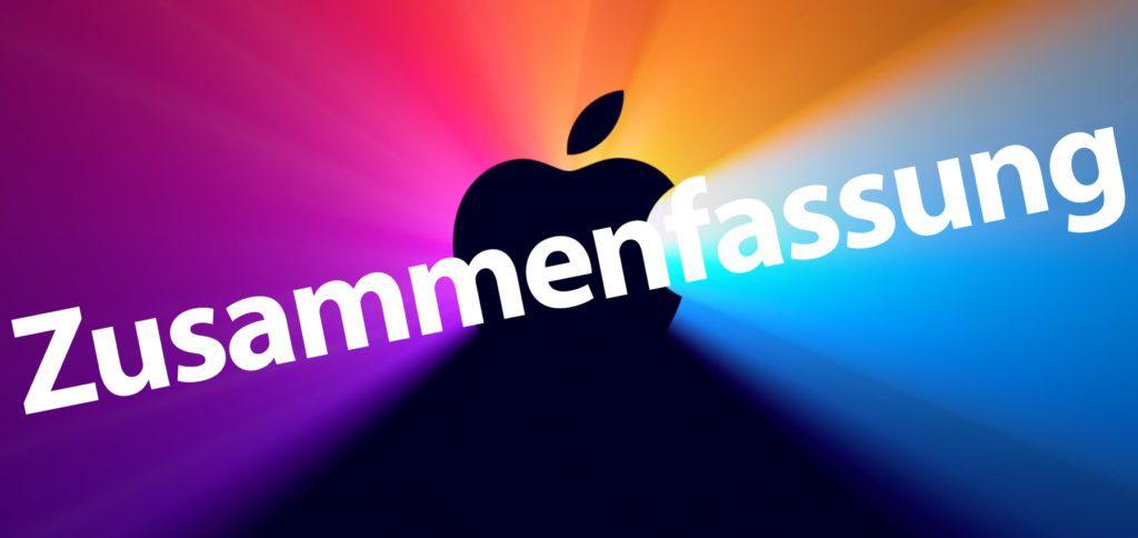 """Hier findet ihr die Zusammenfassung des Apple """"One more thing""""-Event, der Präsentation vom 10. November 2020. Mit dabei waren der neue Apple M1 Chip, macOS Big Sur, die neuen MacBook Air und Pro sowie der neue Mac mini."""