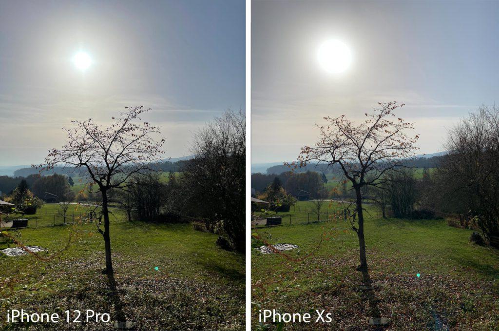 Grundsätzlich ist das iPhone 12 Pro bei Gegenlichtaufnahmen im Vorteil, da die Sonne deutlich weniger des Bildes überstrahlt (Fotos: Sir Apfelot).
