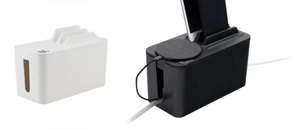 Auch an die mögliche Nutzung eine Qi-Charging-Pads ist bei der Kontruktion gedacht worden (Fotos: Bluelounge).