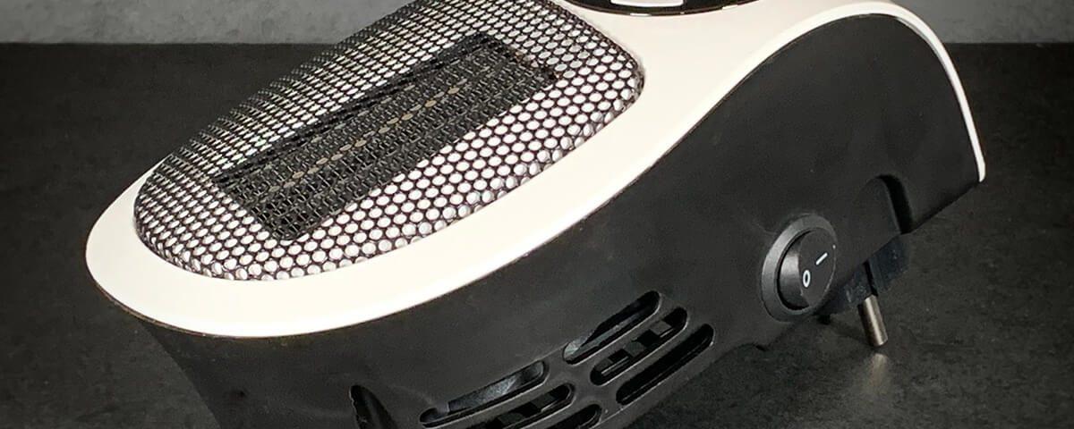 Brandson Mini-Steckdosenheizung im Test