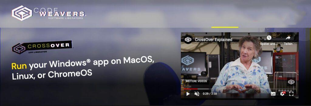 Mit CrossOver lassen sich Windows-Apps auf maccianisch übersetzen –im besten Fall laufen sie dann ohne Emulator am Mac.