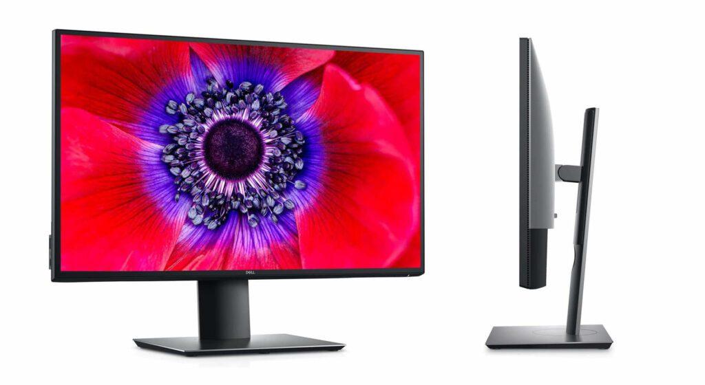 Der Dell UltraSharp 25 macht seinem Namen alle Ehre und liefert ein knackscharfes Bild – ergänzt durch tolle Funktionen in der Bedienung (Foto: Amazon).