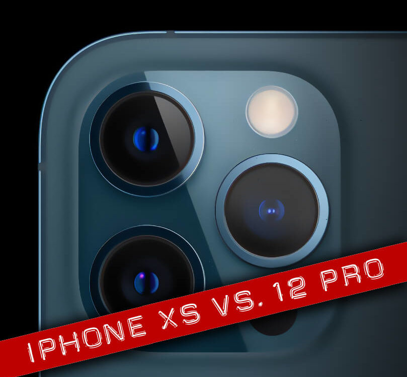 Photo comparison iPhone Xs vs. iPhone 12 Pro