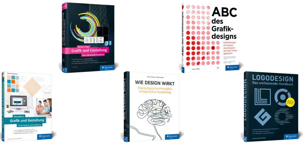 Grafikdesign-Bücher für Einstieg, Verständnis und Praxis findet ihr hier. Die Design-Handbücher liefern Erklärungen, Gesetzmäßigkeiten und praktische Tipps für Studium, Ausbildung und Arbeit.