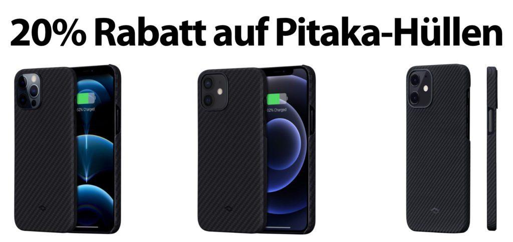 Mit dem hier aufgezeigten Amazon-Gutscheincode bekommt ihr 20% Rabatt auf drei Smartphone-Hüllen von Pitaka.