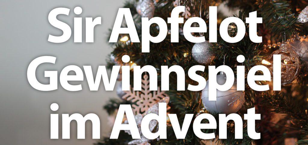 Für das Sir Apfelot Gewinnspiel im Advent 2020 müsst ihr euch nur für den Newsletter anmelden und dann auf diesen antworten. Schon seid ihr im Lostopf drin und könnt Software, Mac- & iPhone-Zubehör sowie ggf. weitere Gewinne einheimsen.