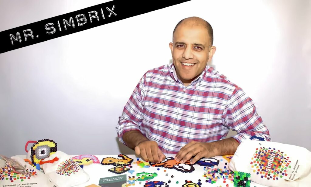 """Assim Ishaque is the inventor of Simbrix and goes by the funny nickname """"Mr. Simbrix"""" (Photo: TheGuardian.com)."""