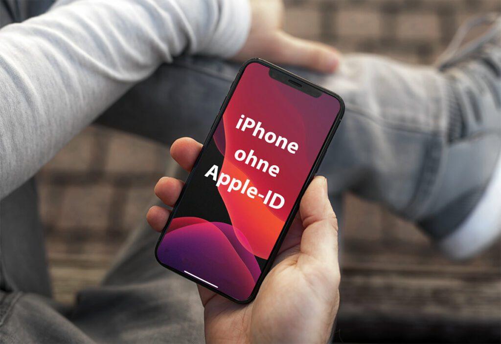 Wie man ein iPhone ohne Apple-ID einrichten kann, erfahrt ihr in diesem Blogpost.