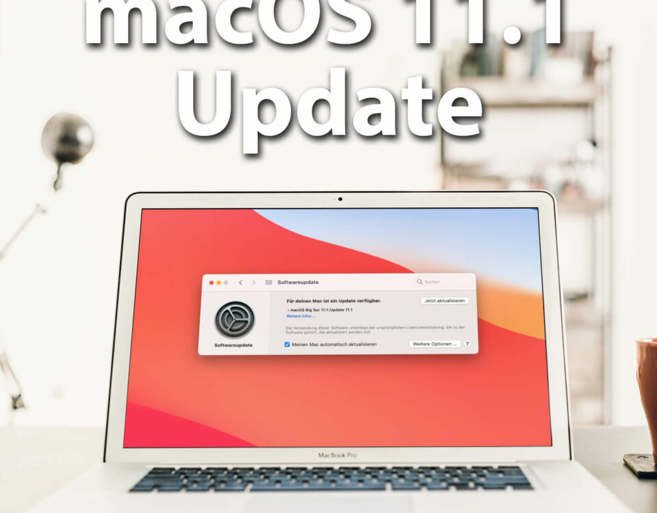 macOS 11.1. Big Sur - the first major update