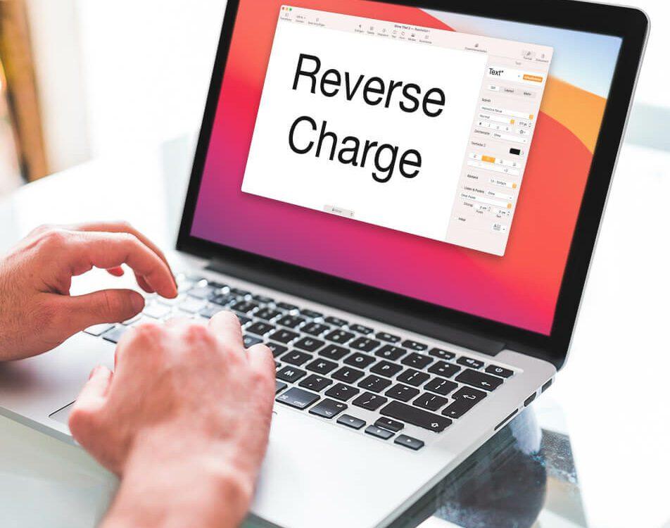 Reverse Charge Hinweis in anderen Sprachen