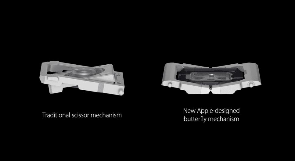 Die Umstellung von der üblichen (und bewährten) Scherentechnik vom Butterfly-Keyboard ist 2020 schon erledigt worden. Ein paar andere Wünsche für 2021 sind noch offen.