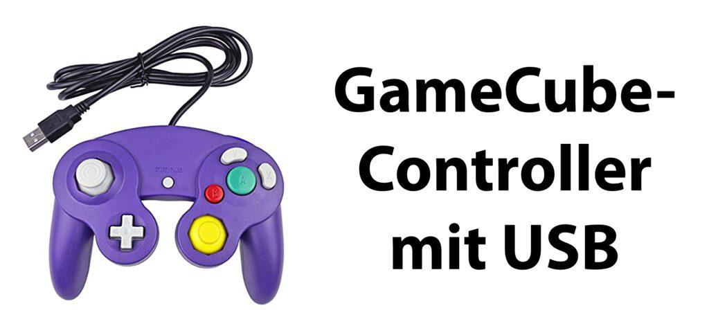 Der GameCube-Controller mit USB-Anschluss ist dem Original von Nintendo nachempfunden. Damit könnt ihr Emulator-Spiele sowie viele andere Games an Mac und PC zocken.