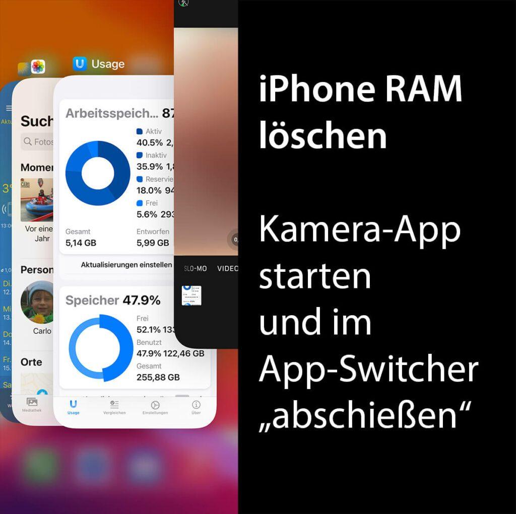 Mit dieser Anleitung kann man den Arbeitsspeicher im iPhone innerhalb kürzester Zeit löschen.