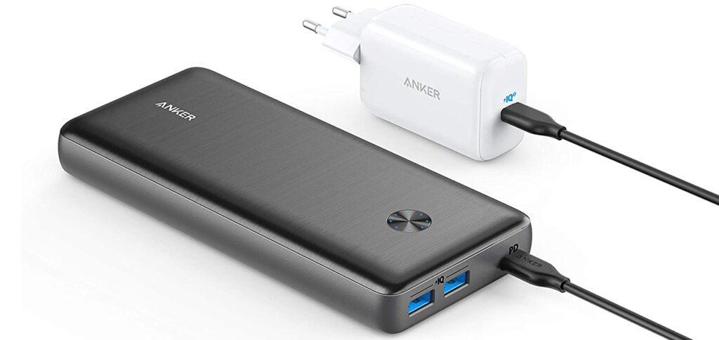Anker bietet für die Samsung Galaxy S21 Reihe ein Ladegerät, eine Powerbank und verschiedene Kabel an. So könnt ihr die Akkus der neuen Samsung Handys für 2021 schnell aufladen.