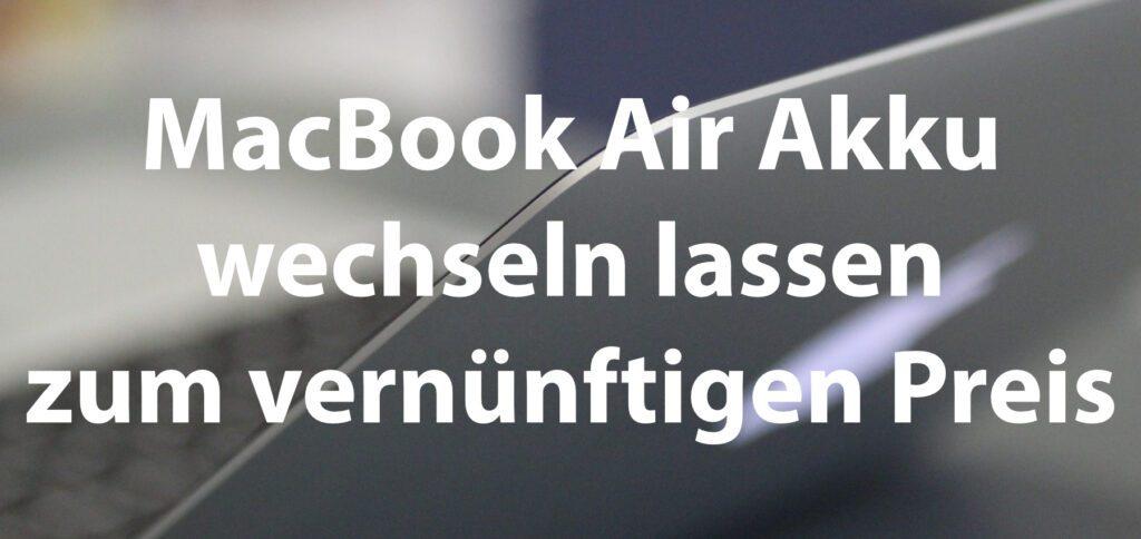 Bei Sadaghian könnt ihr den Apple MacBook Air Akku tauschen lassen. Der Preis ist vernünftig und mit meinem Rabatt-Code gibt es 10 Euro Preisnachlass.