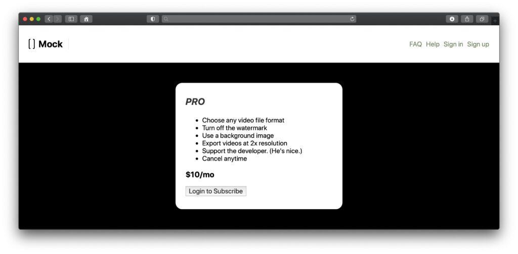 mock.video Pro bringt einige Vorteile. Für private oder halb-professionelle Projekte kann die kostenlose Lösung aber auch schon ausreichen.