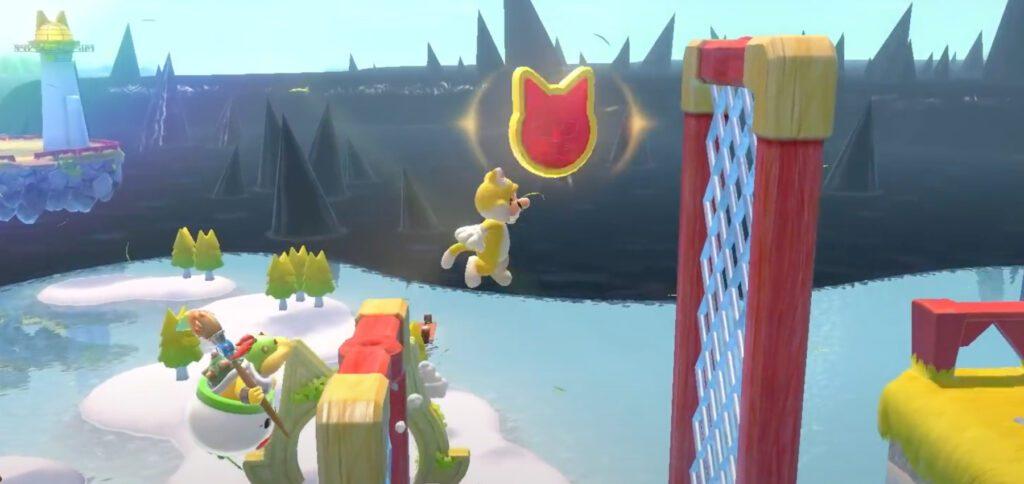 In Super Mario 3D World + Bowser's Fury auf der Nintendo Switch gibt es ein Wiedersehen mit Katzen-Mario, den ihr auch als amiibo kaufen könnt.