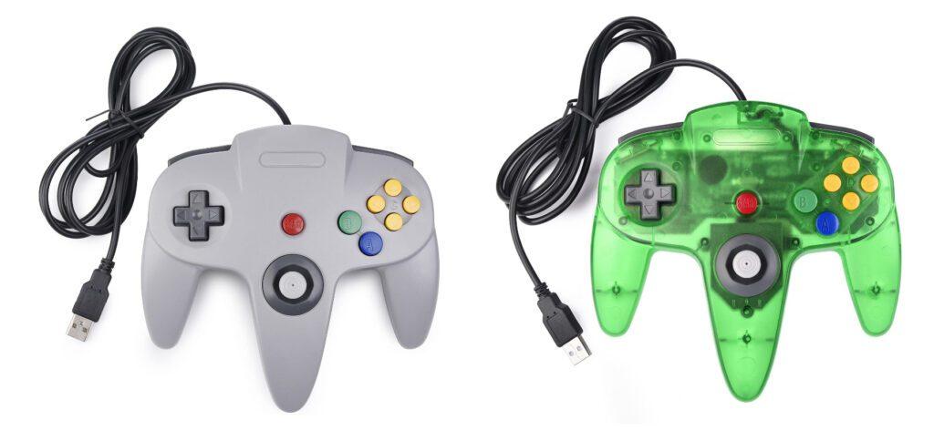 Den miadore N64-Controller mit USB-A-Anschluss für den Computer gibt es für 19,99 EUR bei Amazon in grau und grün.