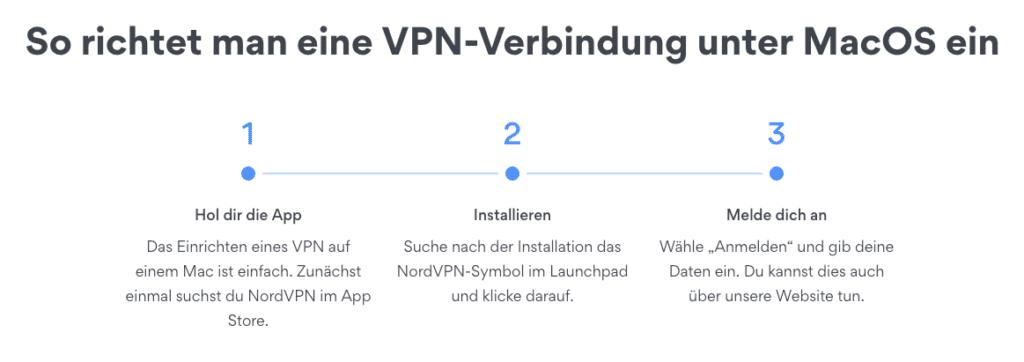 Mit NordVPN kommt man auch als Technik-Dummy problemlos zurecht.