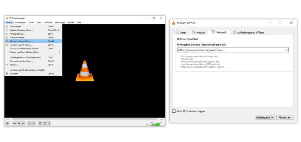 Auch am Windows PC könnt ihr YouTube-Videos im VLC Player abspielen. Einfach, gratis und ohne Werbeunterbrechung.