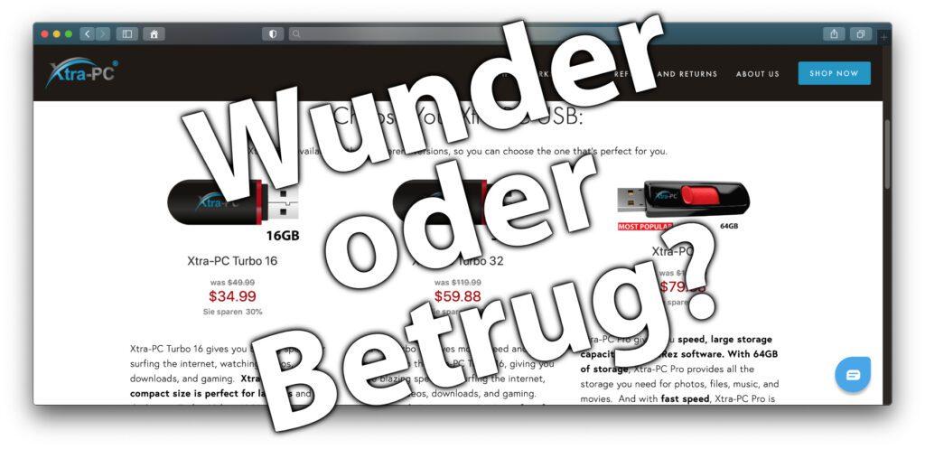 Ist Xtra-PC Betrug oder eine teure Dienstleistung? Ihr könnt euch mit der hiesigen Anleitung einen Xtra-PC Stick selber machen, bei vorhandenem USB-Stick sogar kostenlos!