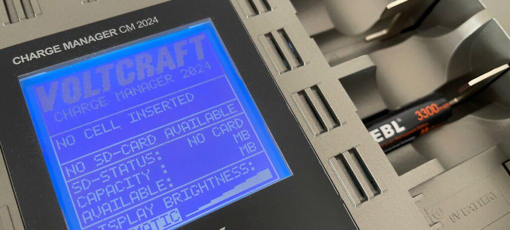 Mein Voltcraft Charge Manager CM 2024 erkennt die Akkus leider nicht als einen bekannten Typ. Aus dem Grund war eine Messung der Kapazität leider nicht möglich.