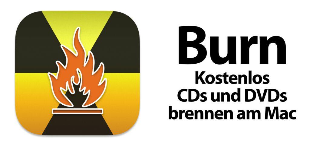 Mit der Burn Mac App könnt ihr Video-DVDs, Musik-CDs, Daten-Discs und Kopien von Datenträgern brennen. Die aktuelle Version Burn 3.1 stammt aus dem Januar 2021.