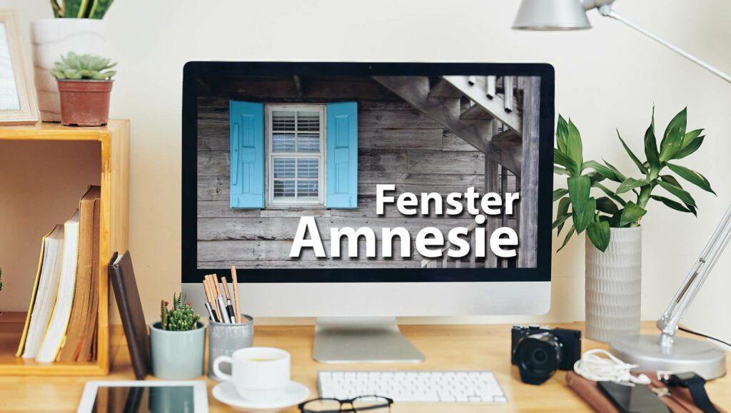 Ein Programm am Mac öffnet die Fenster immer wieder an einer falschen Position? Dann habe ich hier die Lösung für diese Fenster-Amnesie.