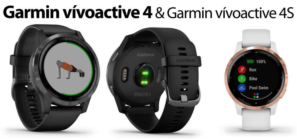 Hier findet ihr Details zur Sport-Smartwatch Garmin vívoactive 4 und zum kleineren Modell 4S. Eine durchschnittlich sehr gut bewertete Uhr mit Fitness-Funktionen und -Apps.