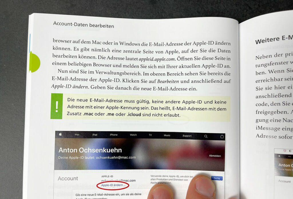Vom Layout her ist das Buch schon aufgeräumt und die vielen Screenshots und Hinweisboxen helfen auch Einsteigern dabei, den Erklärungen zu folgen.