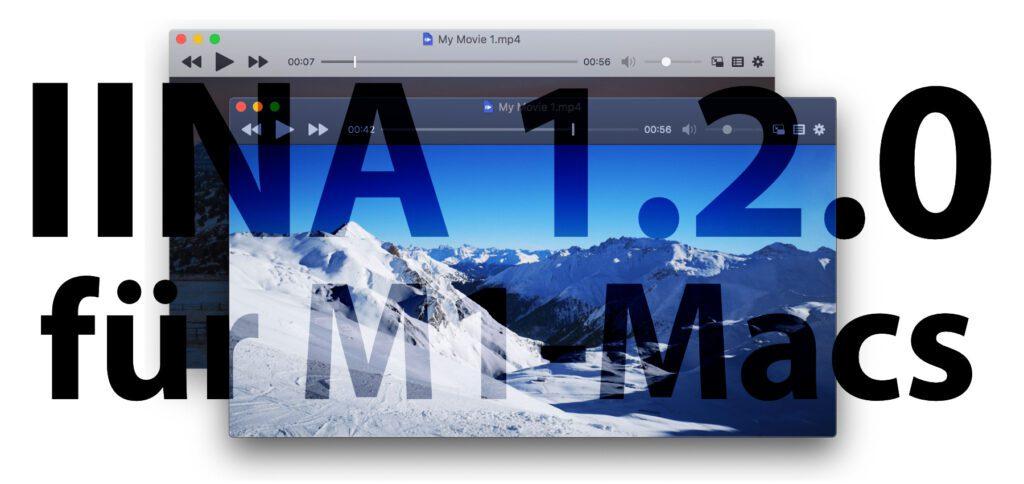 Die neue IINA-Version 1.2.0 ist für M1-Chips in neuen Mac-Modellen mit Apple Silicon optimiert. Der Mediaplayer läuft aber auch auf Intel-Macs. Alle Infos bekommt ihr in diesem Beitrag.