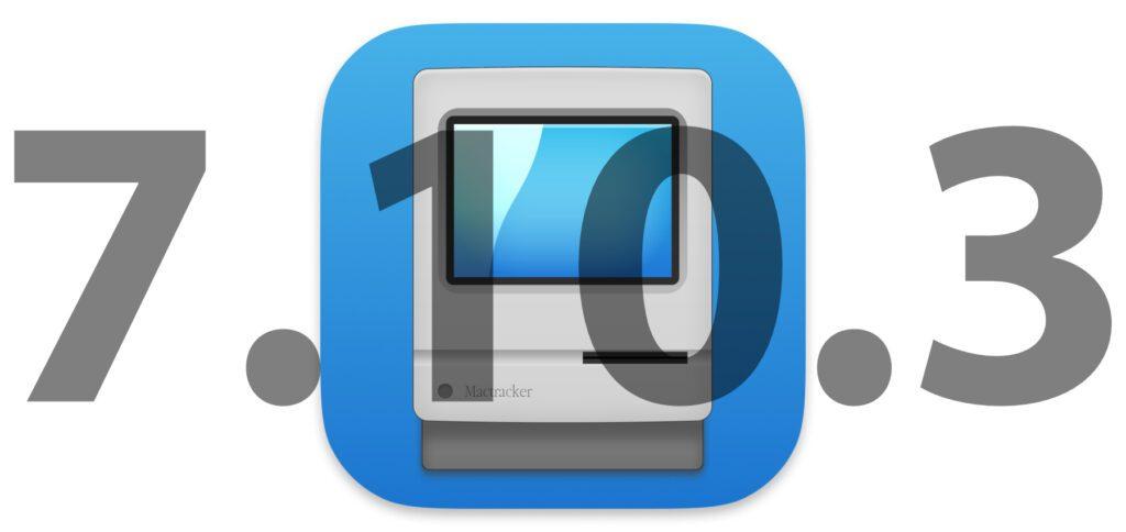 Die kostenlose Mac App Mactracker ist in der Version 7.10.3 vom Entwickler Ian Page für Mac-Modelle mit M1 ARM-Chip kompatibel gemacht worden.