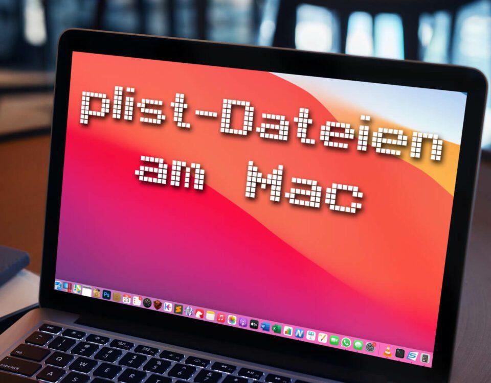 plist-Dateien am Mac