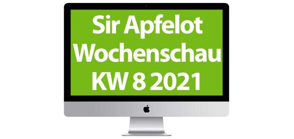 In der Sir Apfelot Wochenschau zur Kalenderwoche 8 in 2021 mit dabei: SD-WAN von Vodafone, besserer Speicherschutz unter iOS 14.5, Windcloud mit klimapositiven Servern, GNU Taler als Online-Bargeld, Apple-Entwicklungen, Blizzard Arcade Collection, und mehr.