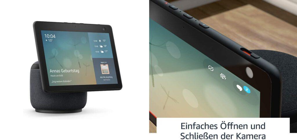 Hier findet ihr technische Daten des Amazon Echo Show 10 (3. Gen) sowie Bilder, den Preis, den Link zur Produktseite und mehr.