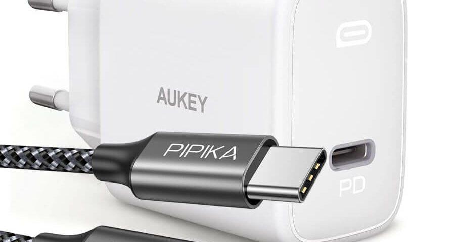 Aukey Netzteil und Pipika Ladekabel im Angebot