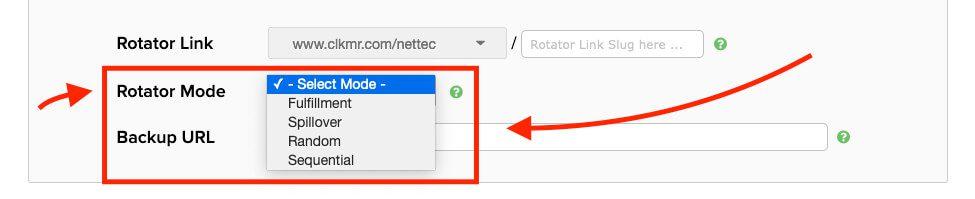 """Das Feature """"URL-Rotator"""" dürfte relativ einzigartig sein. Damit kann man Seitenaufrufe nach verschiedenen Regeln über eine Reihe von URLs verteilen."""