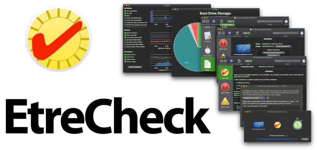 EtreCheck – Die App für die Mac-Fehlerdiagnose bietet umfassende Prüfung und Auswertung. Die Ausgabe von Infos der Mac-Diagnose für den Support / andere User ist einfach und verständlich. So lassen sich Probleme am Apple Mac einfacher lösen.