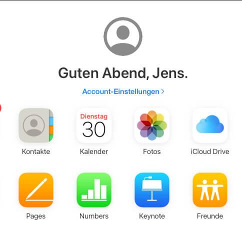 iCloud Daten wiederherstellen