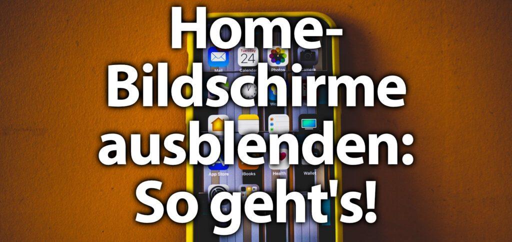 Wollt ihr den Home Screen am Apple iPhone deaktivieren, dann findet ihr hier die passende Schritt-für-Schritt-Anleitung. Ihr könnt immer alle bis auf einen Home-Bildschirm unter iOS 14 ausblenden.