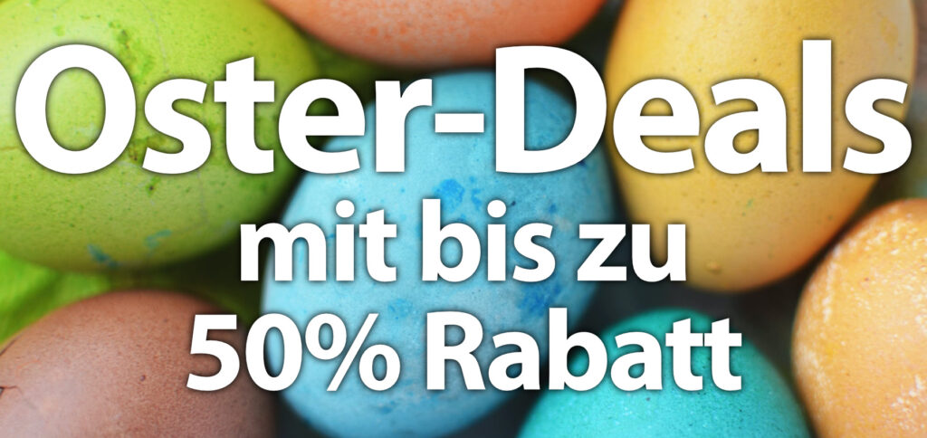 Amazon Oster-Angebote: verschiedenste Deals bis zum 31.03.2021. Bis zu 50% Rabatt in allen Kategorien und für Amazon-Geräte (Kindle, Echo, Fire, Blink, Ring).