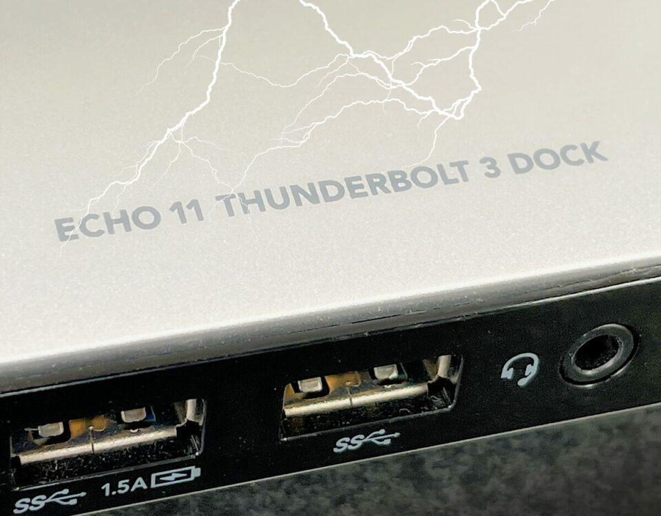 Sonnet Echo 11 Thunderbolt 3 Dock im Test