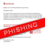 Achtung: sehr gut getarnte Sparkasse-Phisingmail zum Thema S-PushTAN unterwegs