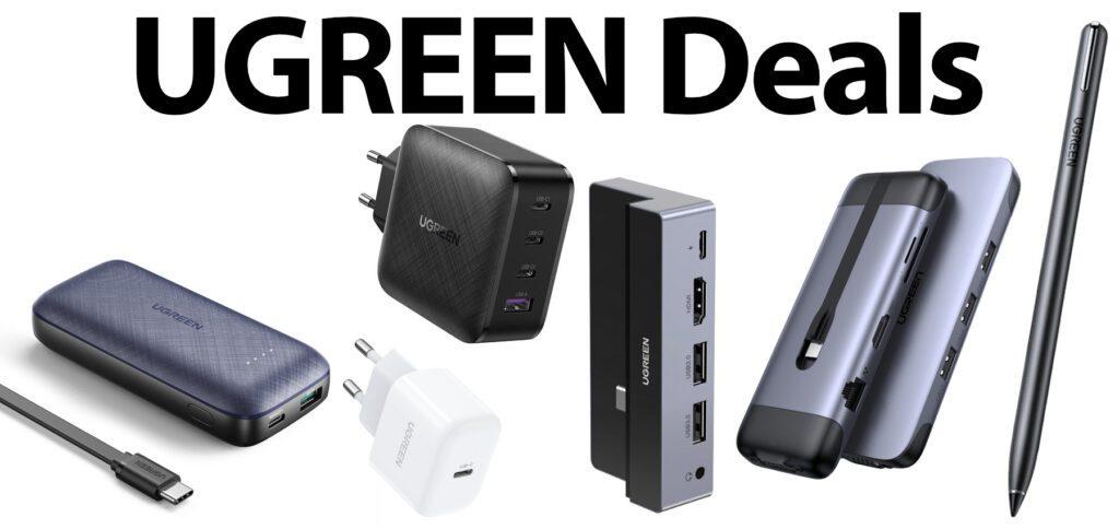 Mit der aktuellen UGREEN-Aktion vom 23. März bis zum 10. April 2021 bekommt ihr Gadgets als Apple-Zubehör 20% günstiger. Nutzt einfach den unten stehenden Code im offiziellen Shop.